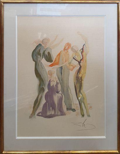 DALI Salvador, d'après  La danse, 1960  Lithographie...