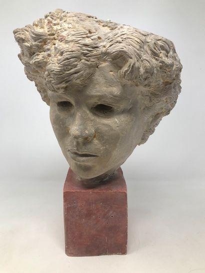 STOERR Edmond (1903-1956)  Tête de femme...