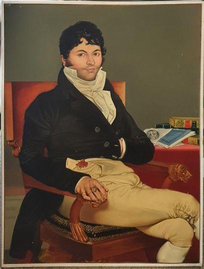 INGRES Jean-Auguste Dominique,d'après  Monsieur...