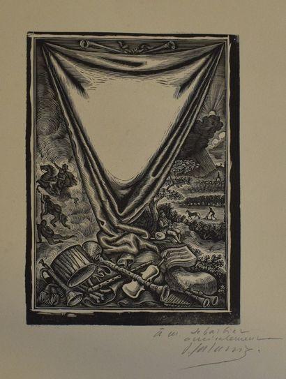 GALANIS Dimitrios Emmanuel (1882-1966)  Vue...