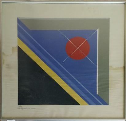 PAPADOPOULOS Platon (1930-2017)  Composition,...