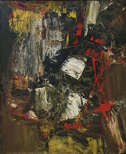MANUEL (XX-XXIème)  Composition abstraite...