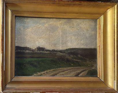 BURN SMEETON Joseph (1815-1890)  Chemin dans...