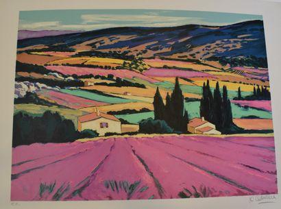 QUILICI Jean-Claude (né en 1941)  Paysage...