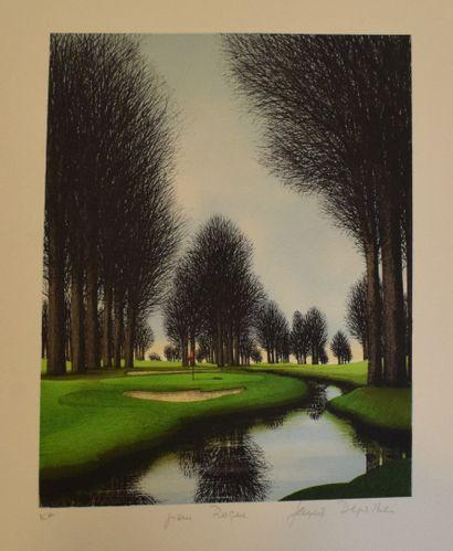 DEPERTHES Jacques (né en 1936)  Au golfe,...