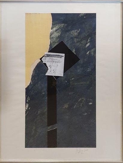 VIOT Jean-Pierre (1937-)  Composition, 1992...