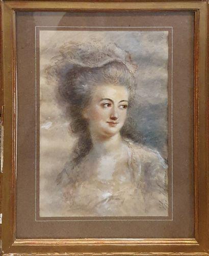 TCHOUMAKOFF Féodor (1823-1911)  Portrait...