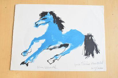 VIDROVITCH Nina (née en 1930)  Le cheval...