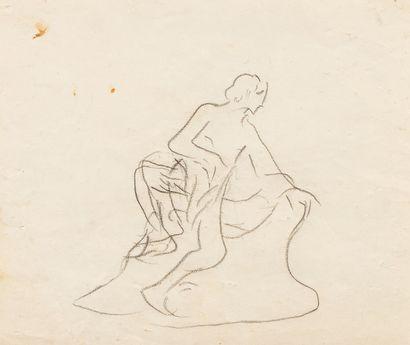HALEPAS Yannoulis, 1851-1938  Étude de figure...