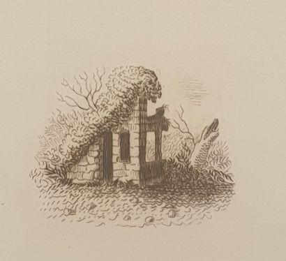 GALANIS Dimitrios Emmanuel, attribué à,  Illustrations,  Suite de 12 eaux-fortes...
