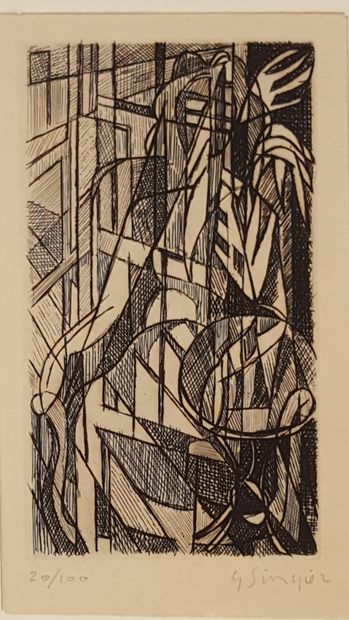 SINGIER Gustave (1909-1984)  Composition...