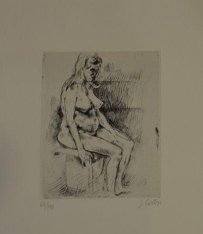 VILLON Jacques (1875-1963)  Mater, 1949  Eau-Forte...