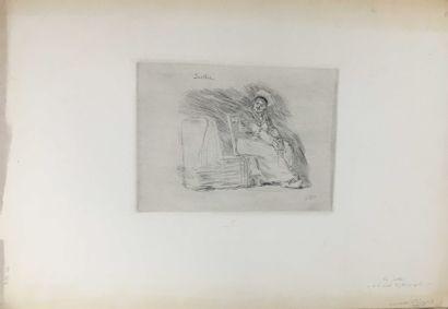 ROPS Félicien, 1833-1898,  La Soetkin et...