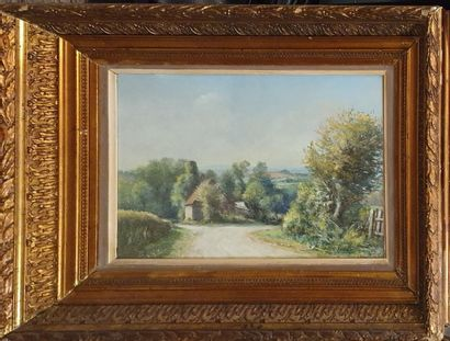 BARON François Marius (1879-1963)  Chemin...