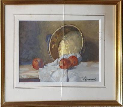 GARRAUD Léon (1877-1961)    Portrait d'homme,...