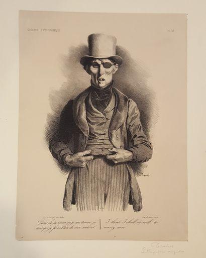 TRAVIES Edouard (1809-1869)  N°30 de la série...