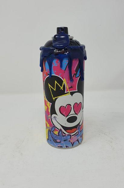 SNEAK (né en 1979)  Mickey Graffiti,  Technique...
