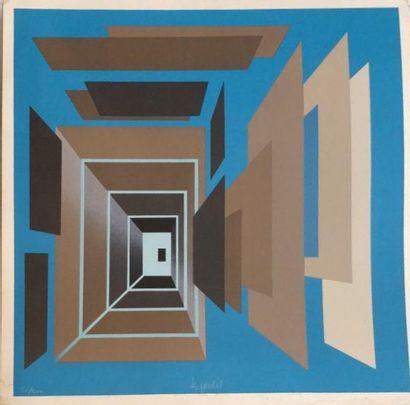 JARDEL Bernard (1932-1984)  Composition sur...