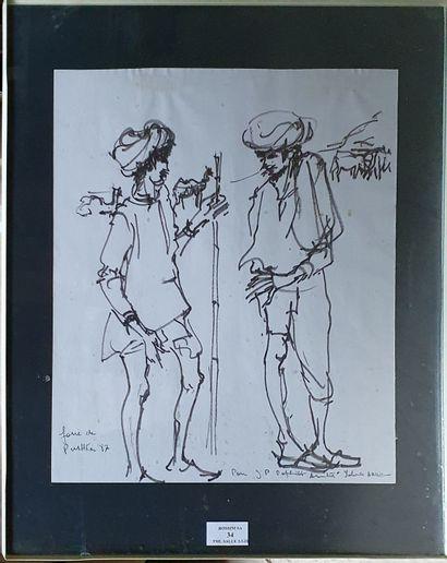 ARDISSONE Yolande, née en 1927  Étude de...