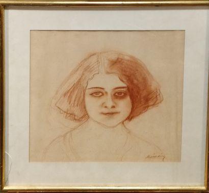MAINSSIEUX Lucien, 1885-1958,  Portrait de...