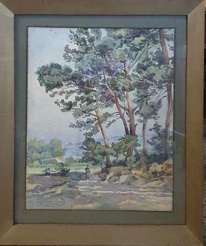 JAUBERT Paul (1869-1927)  Camp major, 1917...