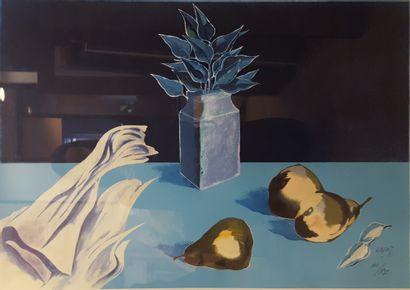 KARAS Christos (né en 1930)  Nature morte,...