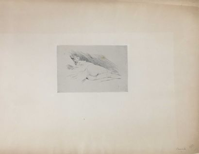 ROPS Félicien, 1833-1898,  Canicule II,  pointe...