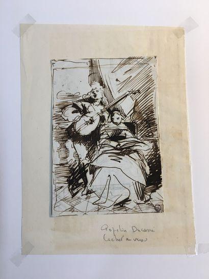 BROWNE Louis (1824-?) [Jacques Louis ROUX...