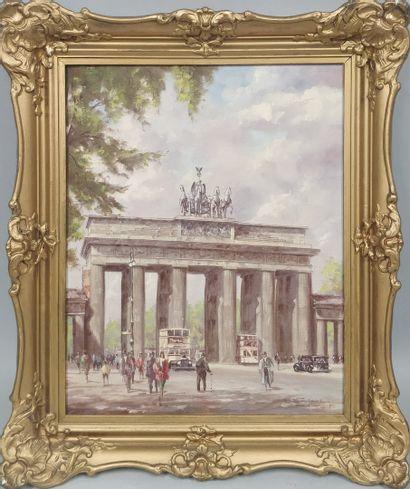 BARTSCH Reinhard, 1925-1990,  Porte de Brandeburg,...