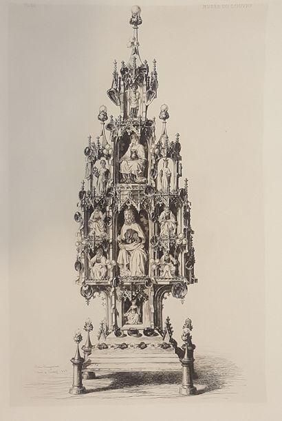 JACQUEMART Jules Ferdinand (1837-1880)  Les...
