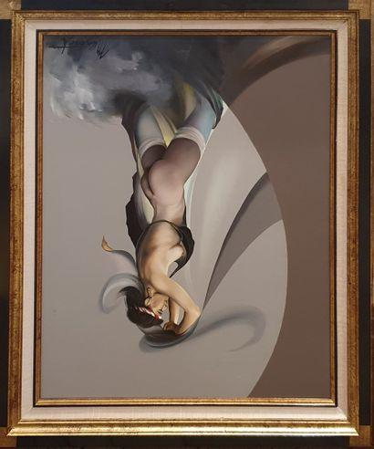 MUNERET Patrick (1940-1994)  Danseuse au...