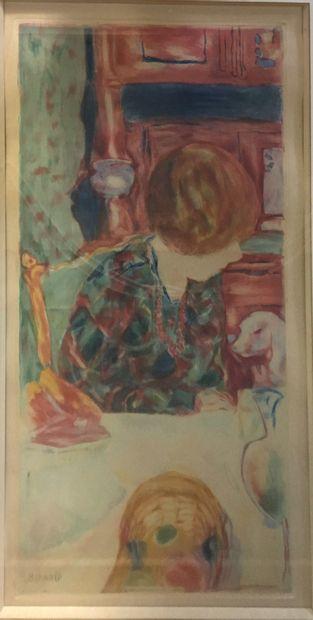 VILLON Jacques, 1875-1963, d'après BONNARD...