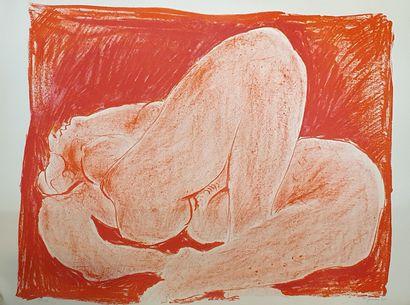 PIGNON Édouard (1905-1993)  Nu, 1975  Lithographie...