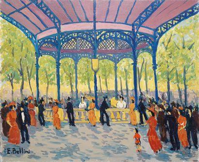 BELLINI Emmanuel, 1904-1989  Vichy la source...