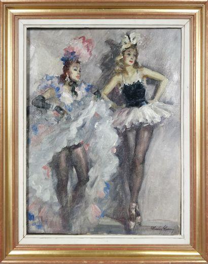 GARY Charley (1891-1973)  Deux danseuses,...