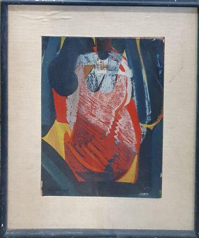 DE TURVILLE Serge (1924-2005)  Composition...