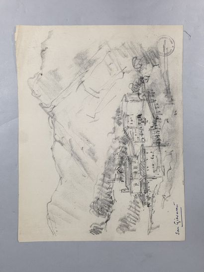 GARIN Paul (1898-1963)  sujets divers  Ensemble...