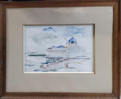 KOHL Pierre, 1897-1985  Le casino de la jetée,...