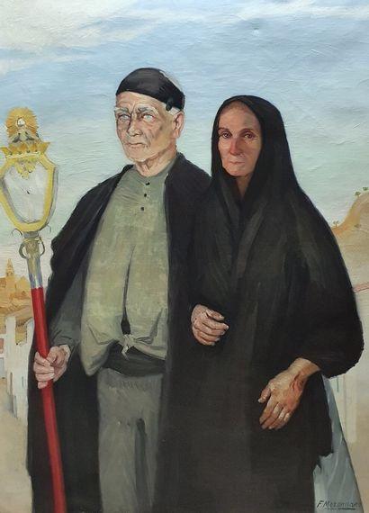 MERENCIANO Francisco, né en 1885,  Berto...