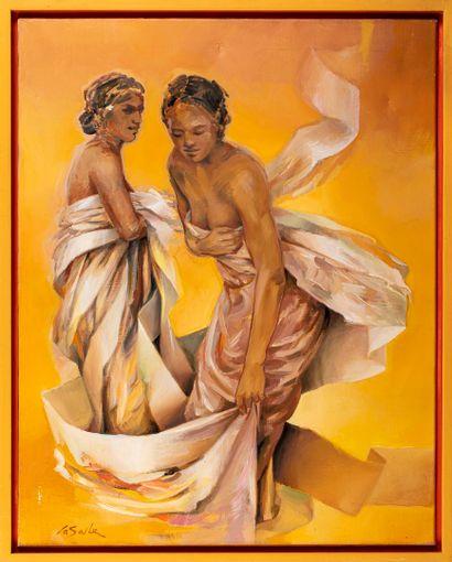 LASALLE Charles Louis, né en 1938  Soleil,...