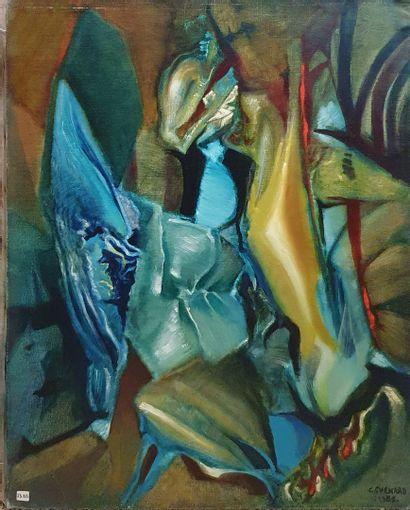 CHENARD Christian (1909-1985)  La haute folie,...
