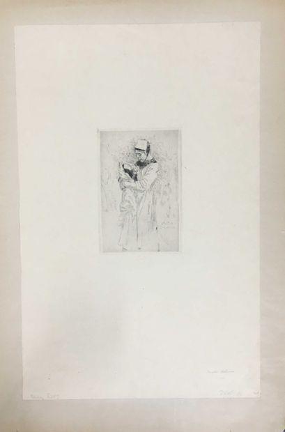 ROPS Félicien, 1833-1898,  Mater dolorosa,...