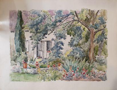 GIRARD Louis Auguste (1896-1981)  Entrée...