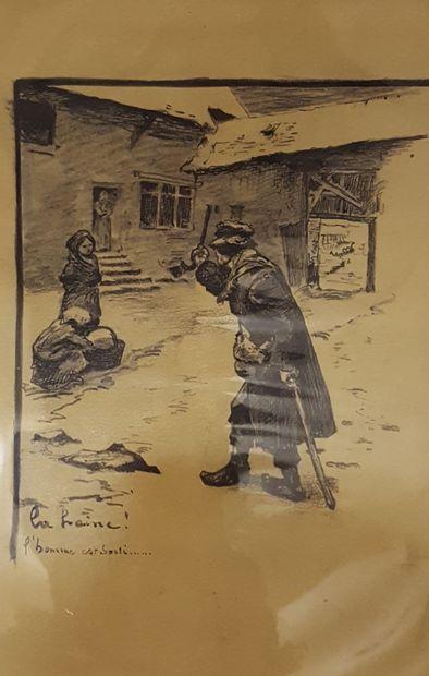 SONNIER Léon Julien Ernest (XIX-XXème siècle)...