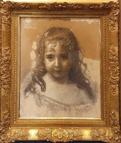 INGOMAR Ignaz Frankel (1838-1924)  Portrait...