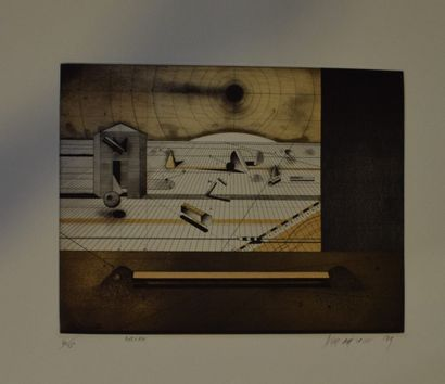 ASSADOUR (1943-)    petrifications, 1988...