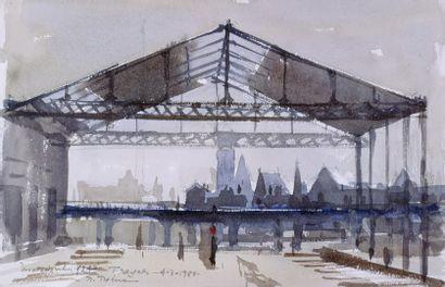 PREKAS Paris (1926-1999)  La gare de Troyes,...