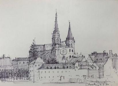 PREKAS Paris (1926-1999)  Cathédrale de Chartres,...