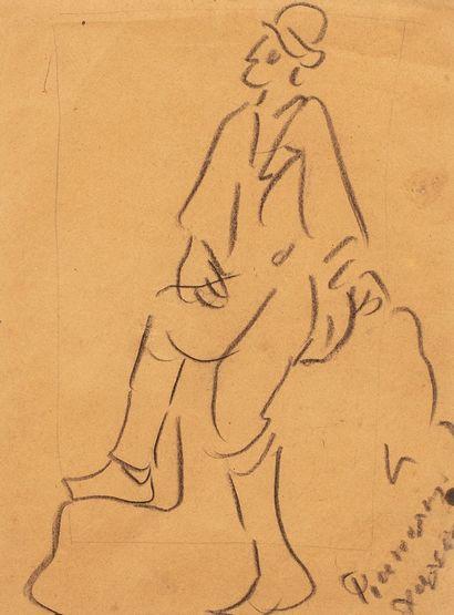HALEPAS Yannoulis, 1851-1938  Étude d'homme...