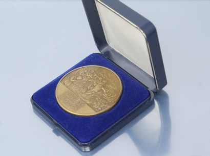 Médaille orthodoxe en bronze daté de 988-1988...